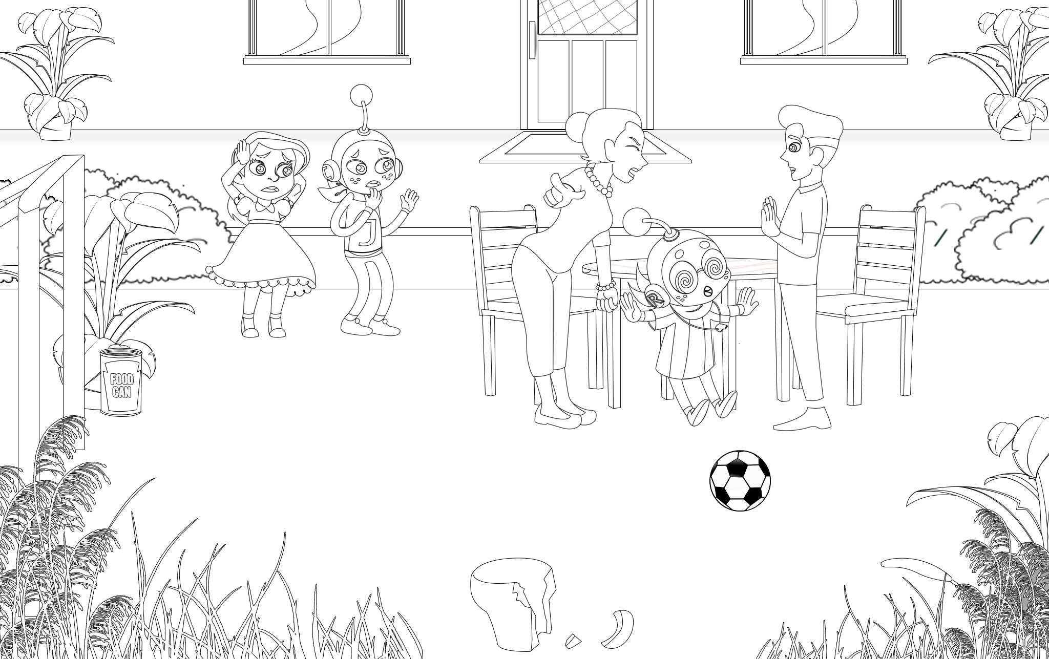 coloring pages articles of organization - photo#4